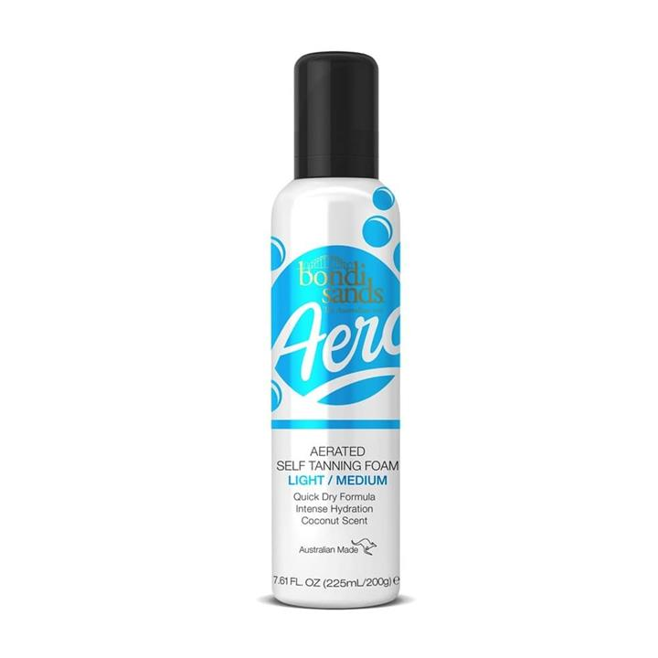 Bondi Sands Aero Light/Medium Self Tanning Foam 225ml