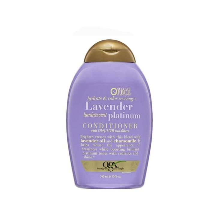 OGX Conditioner Lavender Luminescent Platinum 385ml
