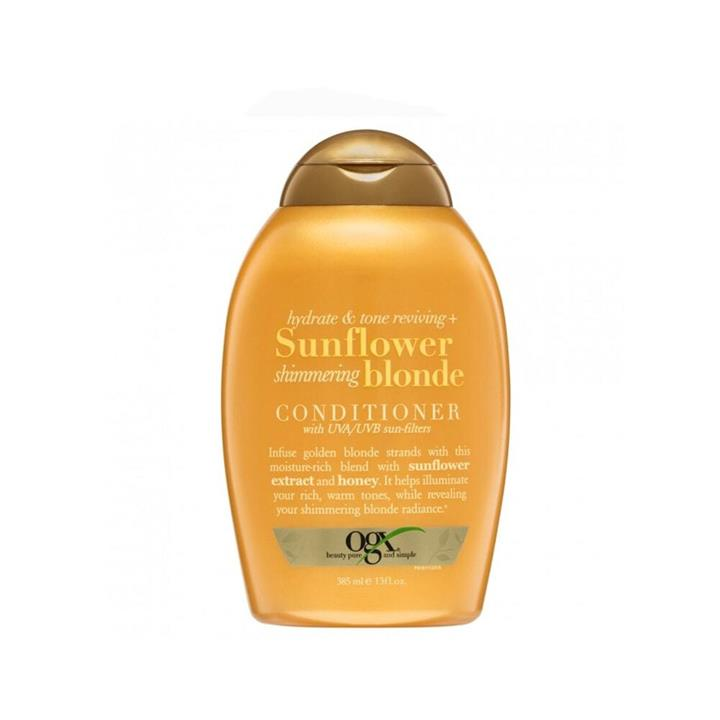 OGX Conditioner Sunflower Shimmering Blonde 385ml