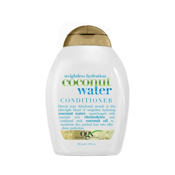 OGX Conditioner Weightless Hydration + Coconut Water 385ml