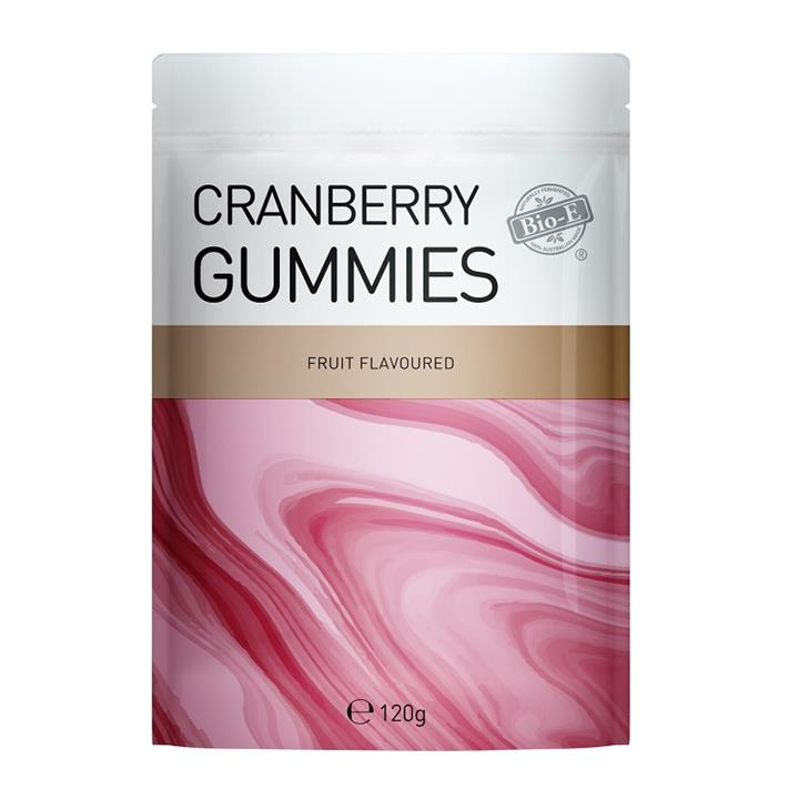 Bio-E Cranberry Gummies Fruit Flavoured 120g