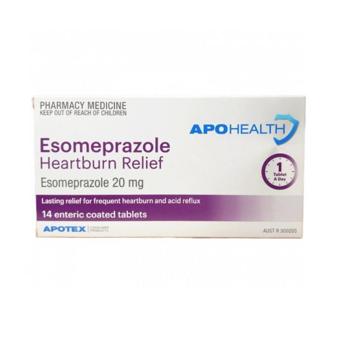 ApoHealth Esomeprazole 20mg Enteric Coated Tab X 14 (Generic NEXIUM)