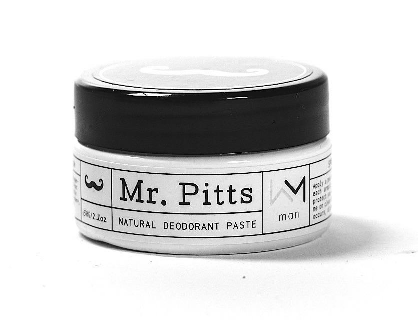 Mr Pitts ACTIVE – Natural Deodorant Paste – Man 70g