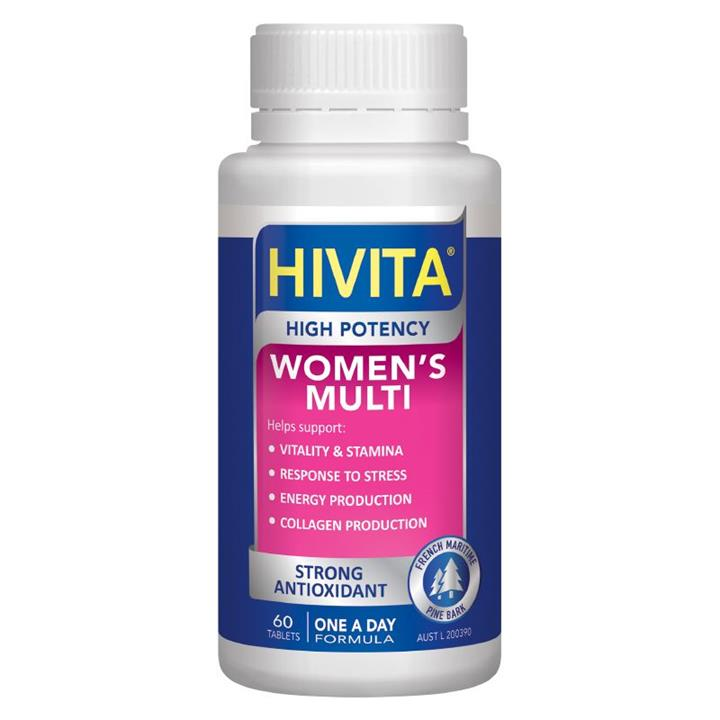 Hivita High Potency Women's Multi Tab X 60