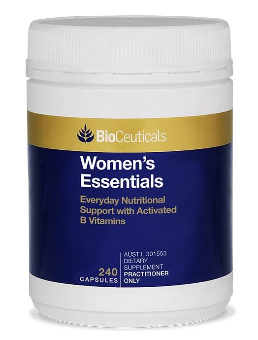 BioCeuticals Women's Essentials Cap X 240