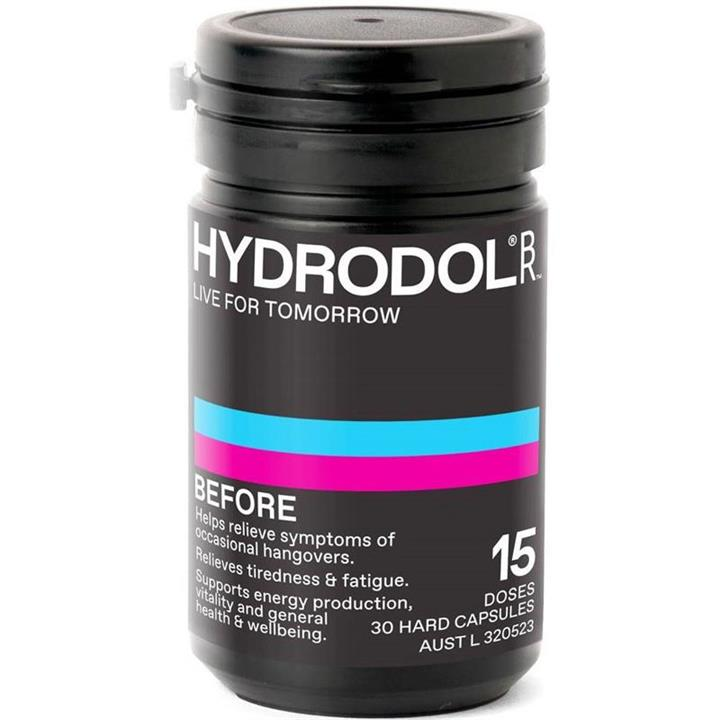 Hydrodol Before Cap X 30 (15 Doses)