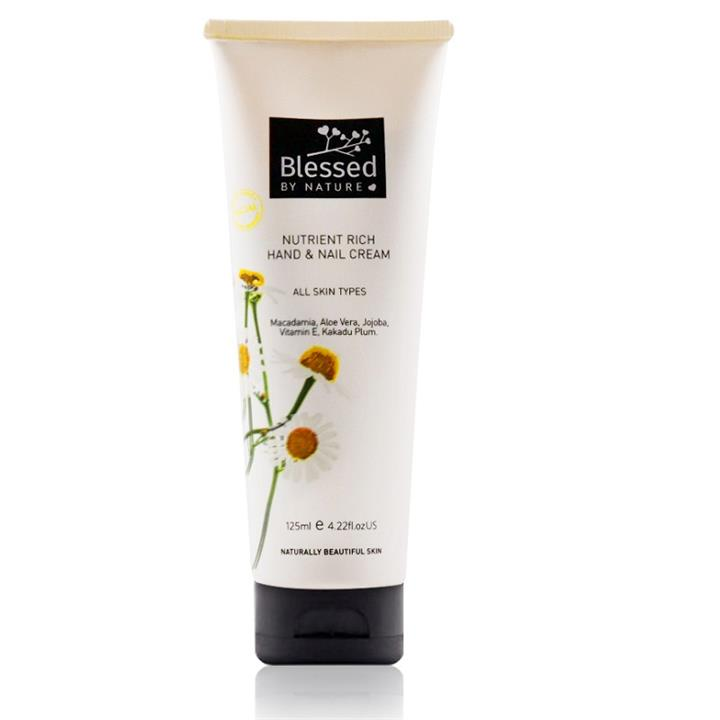 Blessed By Nature Nutrient Rich Hand & Nail Cream 125ml