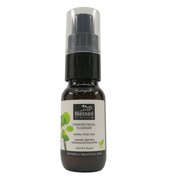 Blessed By Nature Foaming Facial Cleanser 50ml