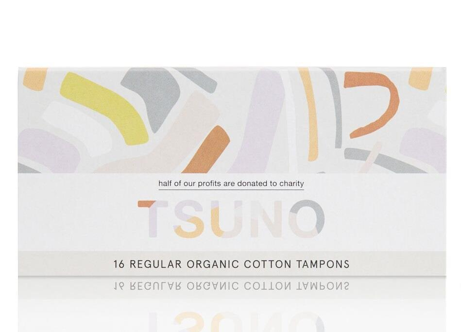 Tsuno Tampons Organic Cotton Regular X 16