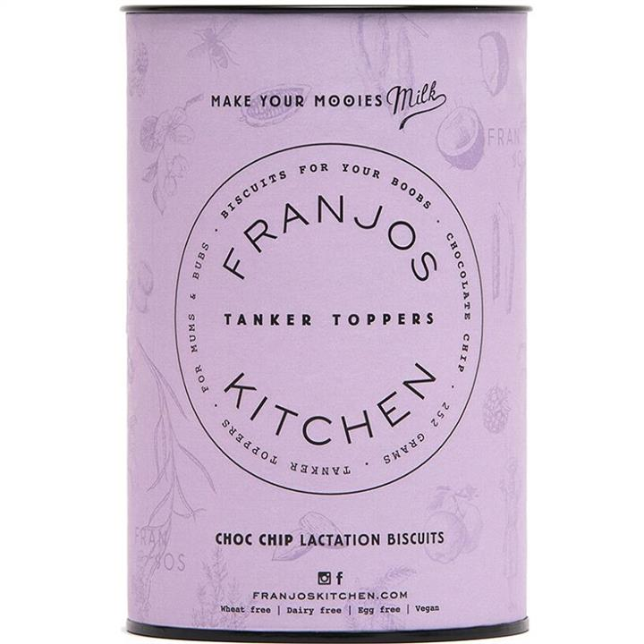 Franjos Kitchen Lactation Biscuits (Choc Chip) 250g