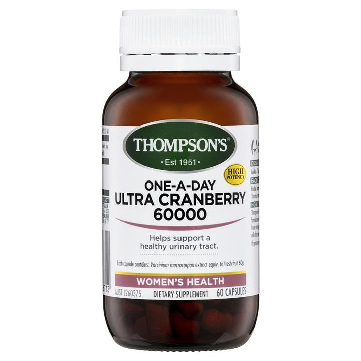 Thompson's One-A-Day Ultra Cranberry 60000mg Cap X 60