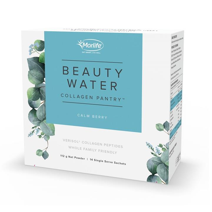 Morlife Collagen Pantry Beauty Water Calm Berry Sachets 8g X 14