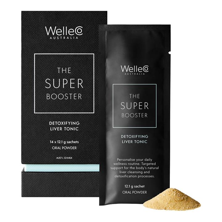 WelleCo The Super Booster Detoxifying Liver Tonic Oral Powder 14 x 12.1g Sachet