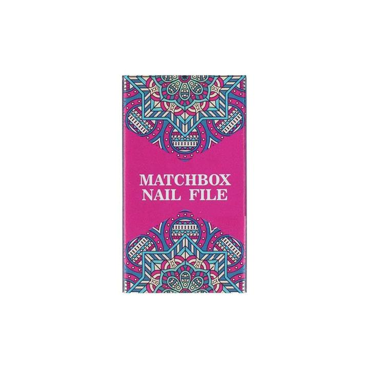 Indulge Matchbox Nail File 12pk