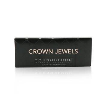 Youngblood 8 Well Eyeshadow Palette – # Crown Jewels 8×0.9g/0.03oz Make Up