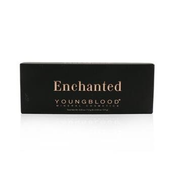 Youngblood 8 Well Eyeshadow Palette – # Enchanted 8×0.9g/0.03oz Make Up