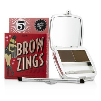 Benefit Brow Zings (Total Taming & Shaping Kit For Brows) – #5 (Deep) 4.35g/0.15oz Make Up