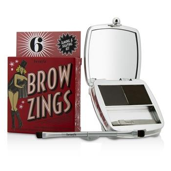 Benefit Brow Zings (Total Taming & Shaping Kit For Brows) – #6 (Deep) 4.35g/0.15oz Make Up