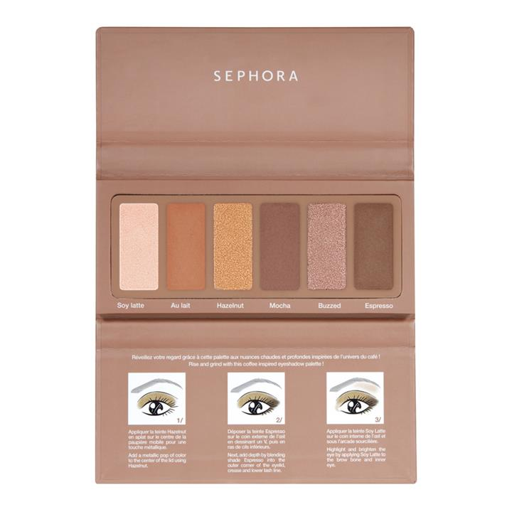 Sephora Collection #EYESTORIES Eyeshadow Palette Caffeine, please!