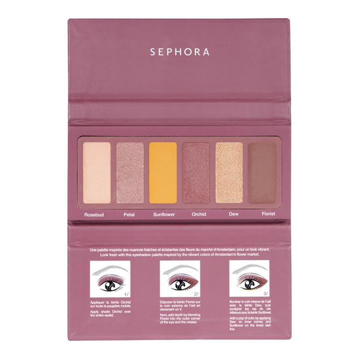 Sephora Collection #EYESTORIES Eyeshadow Palette Fresh Florals