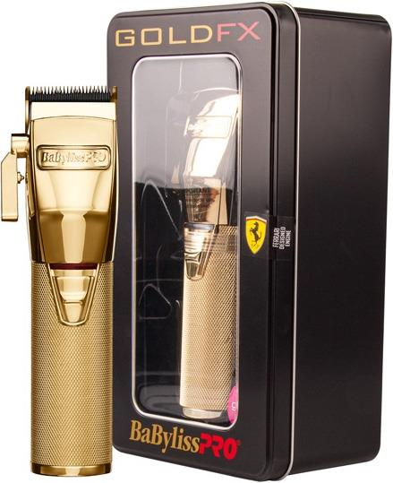 Babyliss Pro Gold FX Lithium Clipper – Gold