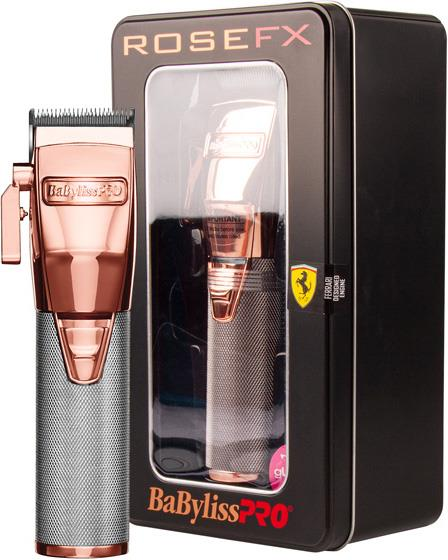 Babyliss Pro Rose FX Lithium Clipper – Rose Gold