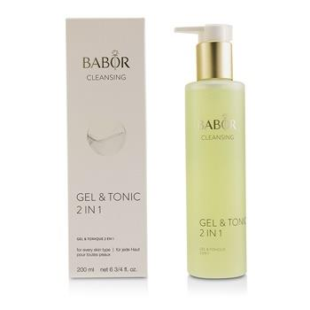 Babor CLEANSING Gel & Tonic 2 In 1 200ml/6.75oz Skincare