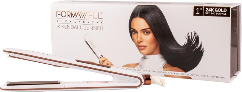 Formawell Beauty X Kendall Jenner Ionic Gold Fusion Pro Curling Iron