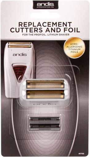 Andis Replacement Foil Shaver (Foil and Blade Set) for ProFoil Shaver