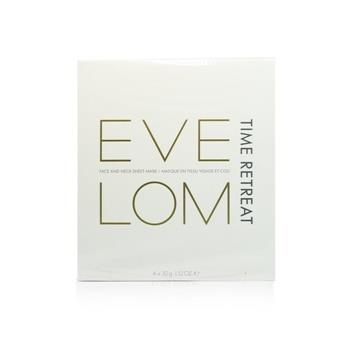 Eve Lom Time Retreat Face And Neck Sheet Mask 4x32g/1.12oz Skincare