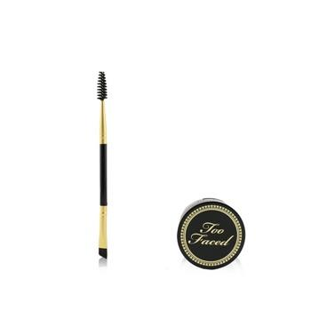 Too Faced Bulletproof Brows 24H Waterproof Cashmere Clay With Brush – # Universal Brunette (Unboxed) 2pcs Make Up