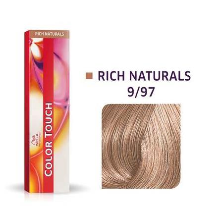 Wella Professionals Color Touch Demi-Permanent Hair Colour 60ml 9/97 Very Light Blonde/Cendr� Brown