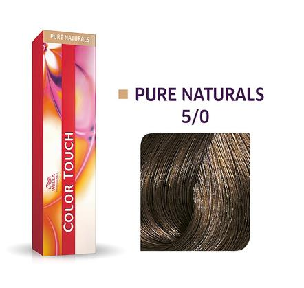 Wella Professionals Color Touch Demi-Permanent Hair Colour 60ml 5/0 Light Brown/Natural