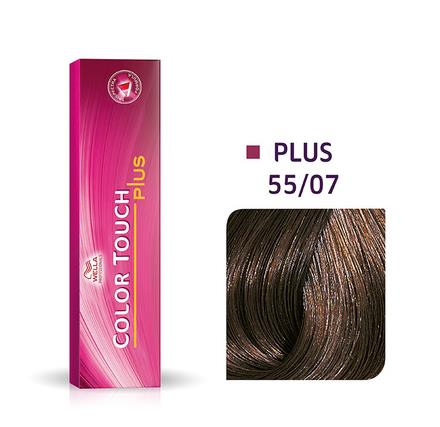 Wella Professionals Color Touch Demi-Permanent Hair Colour 60ml 55/07 Intense Light Brown/ Natural Brown