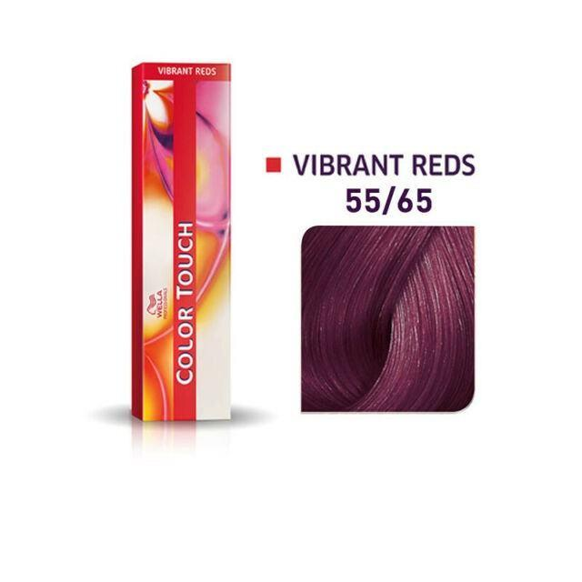 Wella Professionals Color Touch Demi-Permanent Hair Colour 60ml 55/65 Intense Light Brown Violet Mahogany