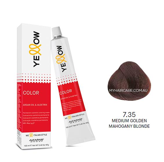 Yellow by Alfaparf Group – Permanent Hair Colour (100ml) 7.35