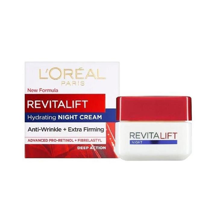 L'Oreal Revitalift Hydrating Night Cream Anti-Wrinkle & Extra-Firming 50ml