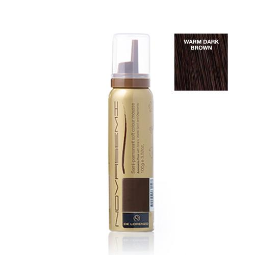 De Lorenzo Novasemi Soft Colour Mousse Warm Dark Brown 100g