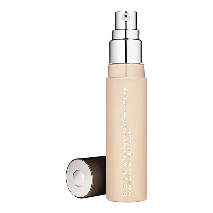 BECCA Cosmetics Shimmering Skin Perfector Liquid Highlighter Pearl (soft, luminescent white)