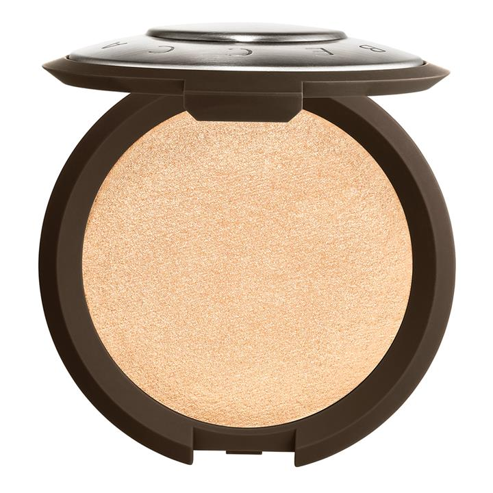 BECCA Cosmetics Shimmering Skin Perfector Pressed Highlighter Moonstone (pale, incandescent gold)