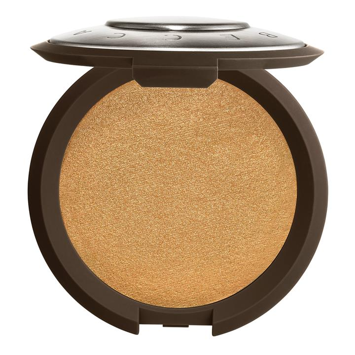 BECCA Cosmetics Shimmering Skin Perfector Pressed Highlighter Topaz (warm bronze with golden pearl)