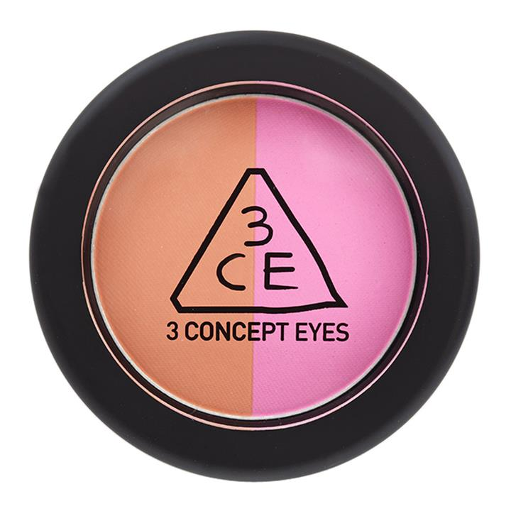 3CE 3CE Duo Color Face Blush Miss Flower