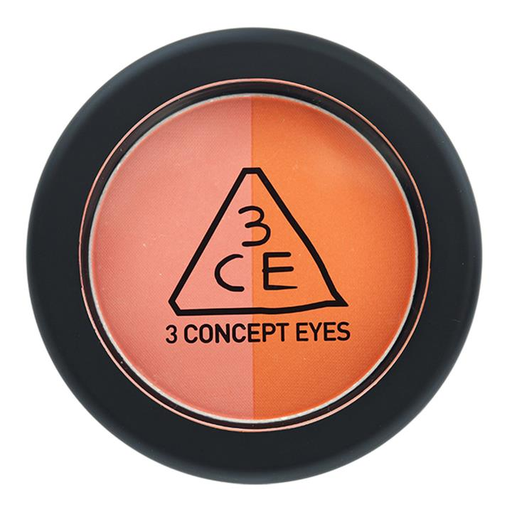 3CE 3CE Duo Color Face Blush Peach Crush