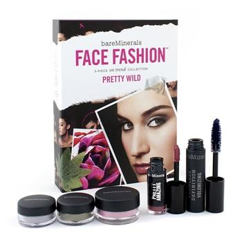 BareMinerals BareMinerals Face Fashion Collection (Blush + 2x Eye Color + Mascara + Lipcolor) – The Look Of Now Pretty Wild 5pcs Make Up
