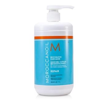 Moroccanoil Restorative Hair Mask – For Weakened and Damaged Hair (Salon Product) 1000ml/33.8oz Hair Care