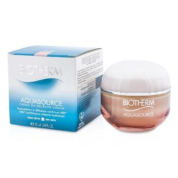 Biotherm Aquasource 48H Continuous Release Hydration Rich Cream – For Dry Skin 50ml/1.69oz Skincare