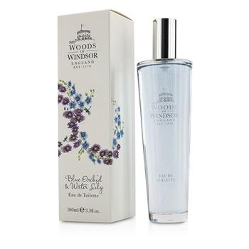 Woods Of Windsor Blue Orchid & Water Lily Eau De Toilette Spray 100ml/3.3oz Ladies Fragrance