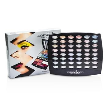 Cameleon MakeUp Kit G1665 : 48xEyeshadow, 4xBlush, 6xLipgloss, 4xBrush – Make Up