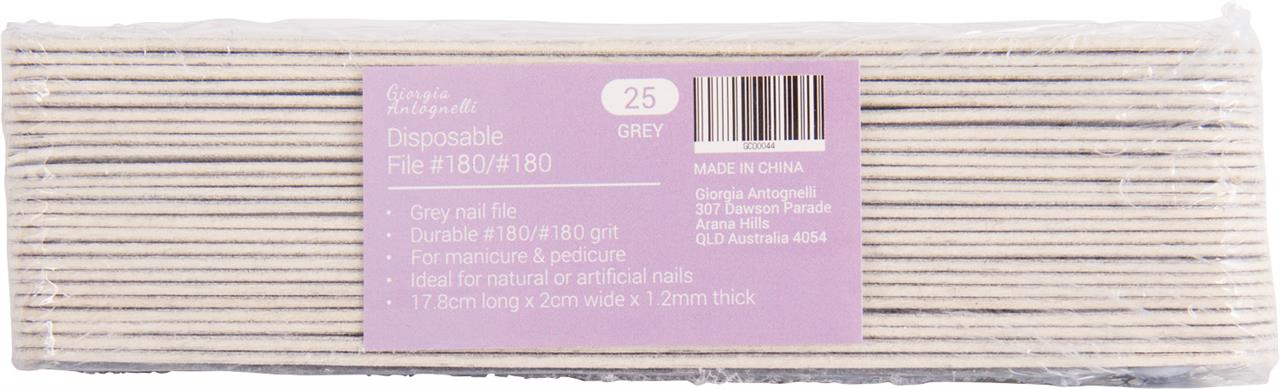 Giorgia Antognelli Disposable Nail File 180/180 25Pk
