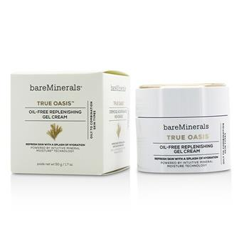 BareMinerals True Oasis Oil-Free Replenishing Gel Cream – Oily To Combination Types 50g/1.7oz Skincare